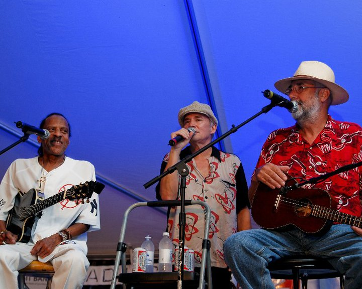 Introducting Teenie Hodges and Roger Cook at my Songwriter Festival
