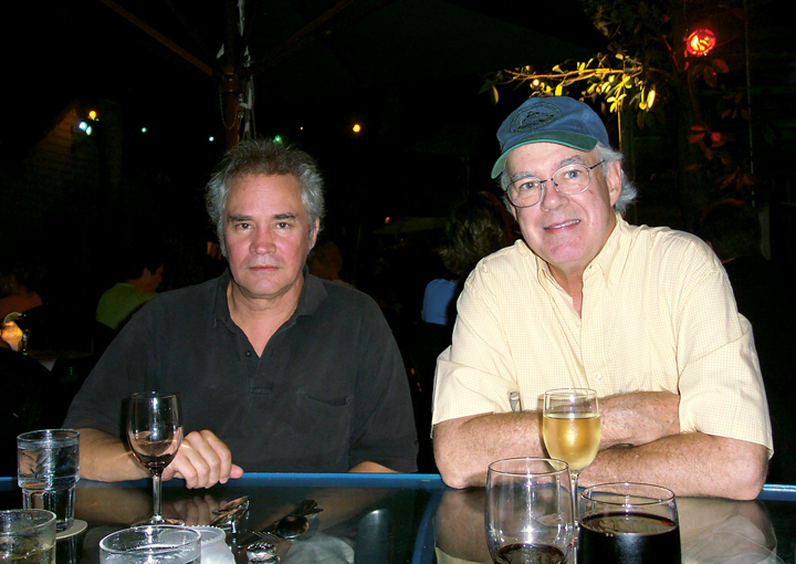 With author Tom Corcoran
