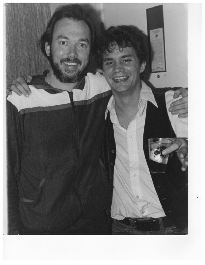 With Billy Swan 1978