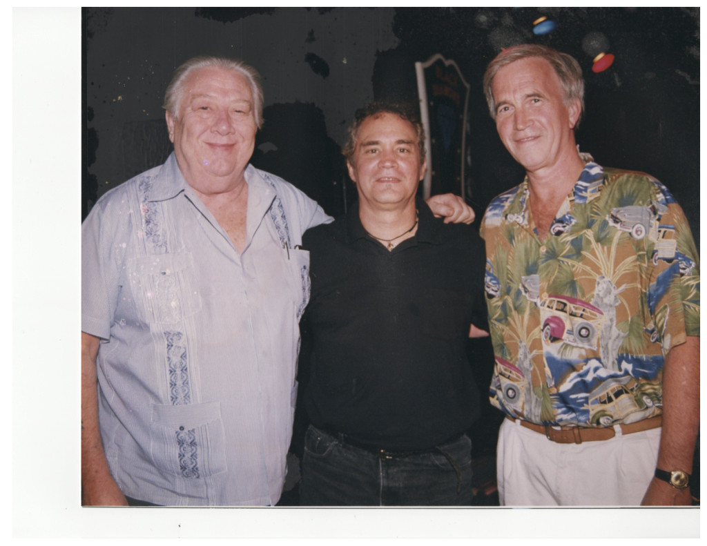 With Cowboy Jack Clement and Paul Craft, Songwriters On Beale 1999