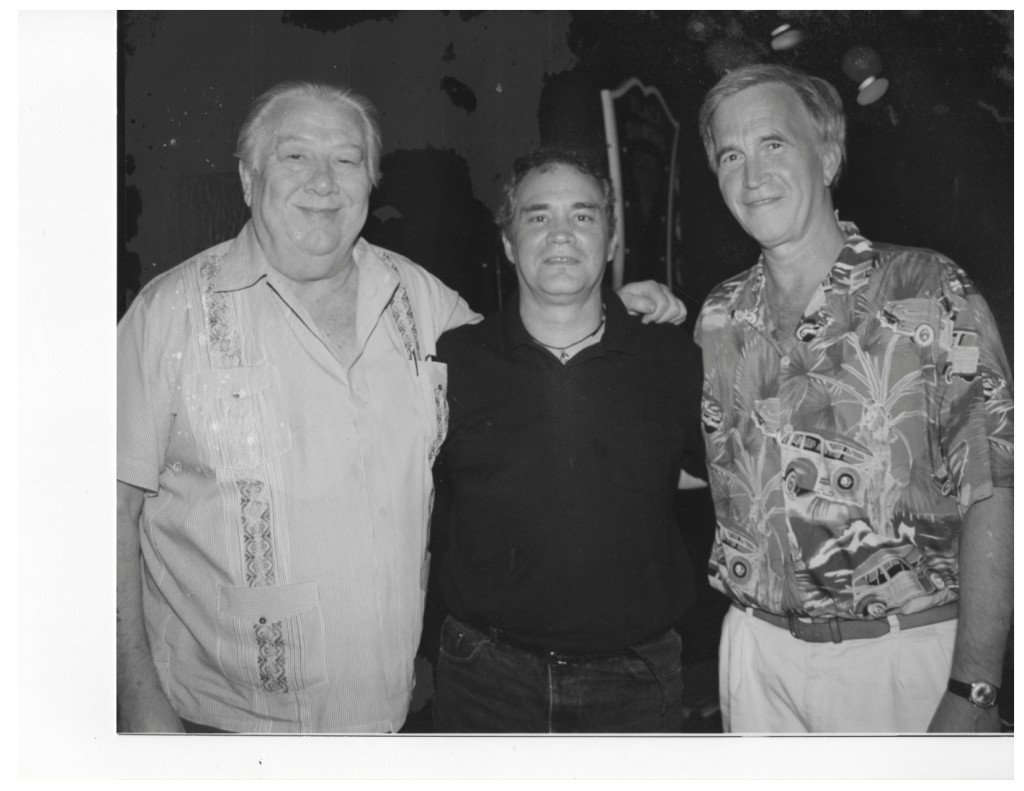 With Cowboy Jack Clement and Paul Craft, Songwriters On Beale 1999 B&W