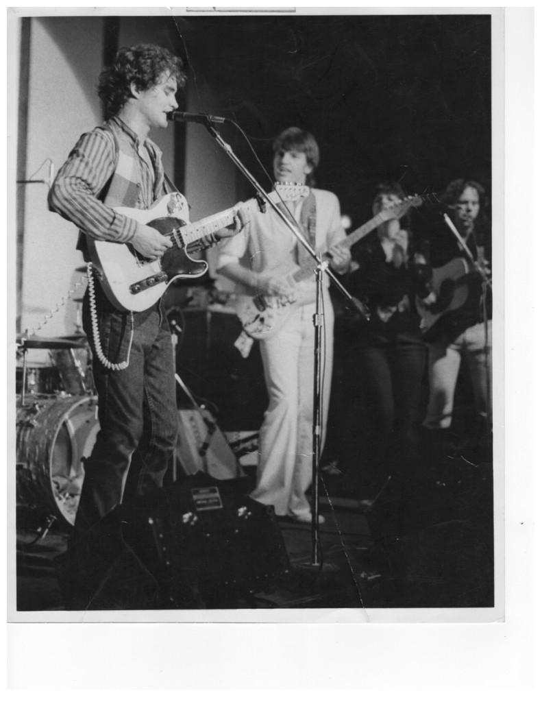 With Larry Raspberry 1975